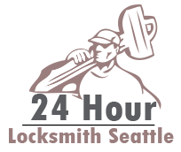 24 Hour Locksmith seattle logo